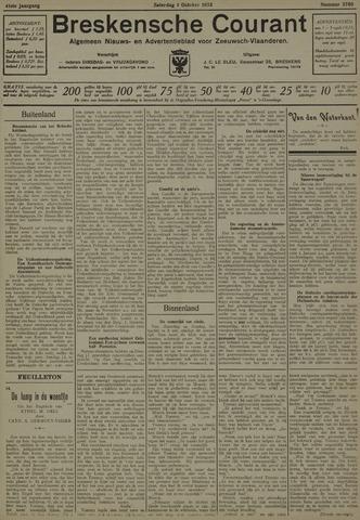 Breskensche Courant 1932-10-01