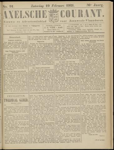 Axelsche Courant 1921-02-19