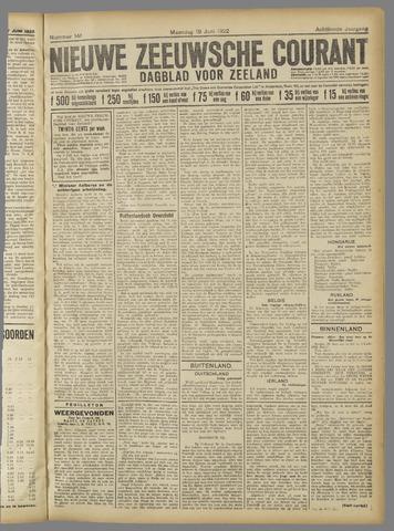 Nieuwe Zeeuwsche Courant 1922-06-19