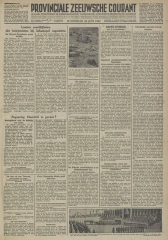 Provinciale Zeeuwse Courant 1942-06-24