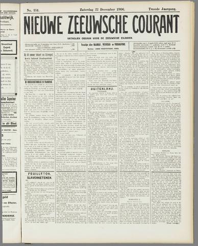 Nieuwe Zeeuwsche Courant 1906-12-22