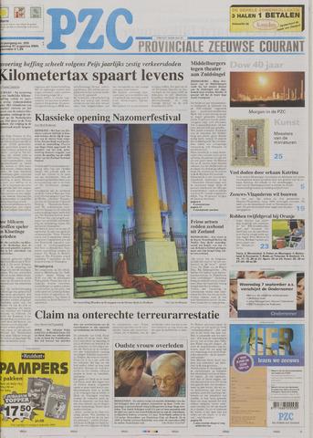 Provinciale Zeeuwse Courant 2005-08-31