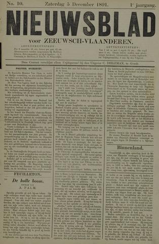 Nieuwsblad voor Zeeuwsch-Vlaanderen 1891-12-05