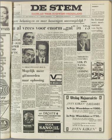 de Stem 1971-10-14