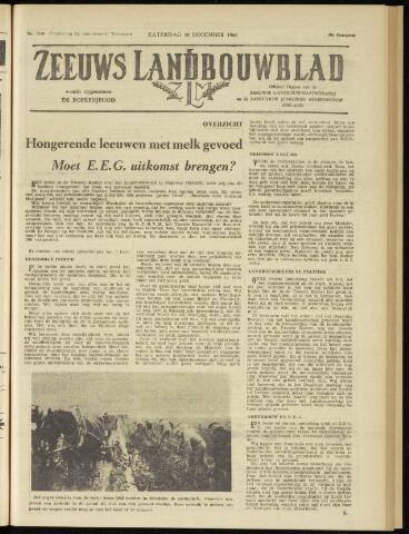 Zeeuwsch landbouwblad ... ZLM land- en tuinbouwblad 1960-12-10