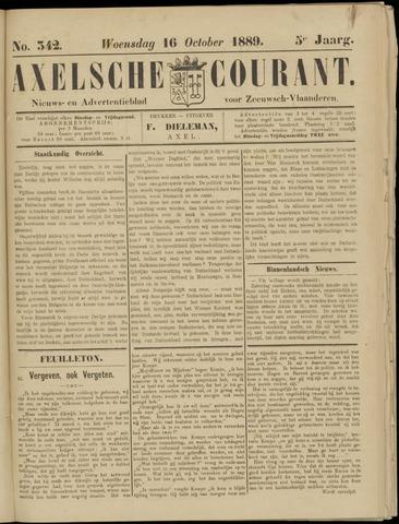 Axelsche Courant 1889-10-16