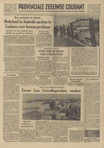 Provinciale Zeeuwse Courant 1958-10-25