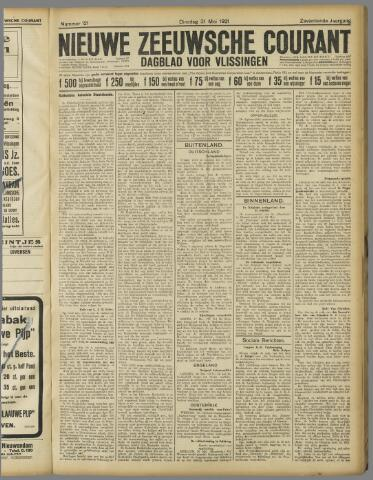 Nieuwe Zeeuwsche Courant 1921-05-31