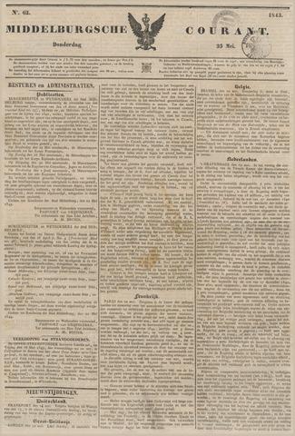Middelburgsche Courant 1843-05-25