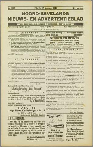 Noord-Bevelands Nieuws- en advertentieblad 1941-08-23