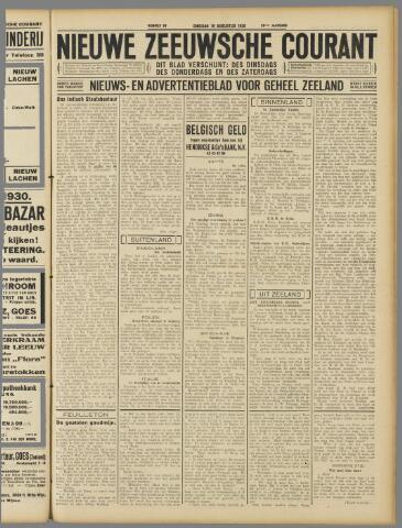 Nieuwe Zeeuwsche Courant 1930-08-19