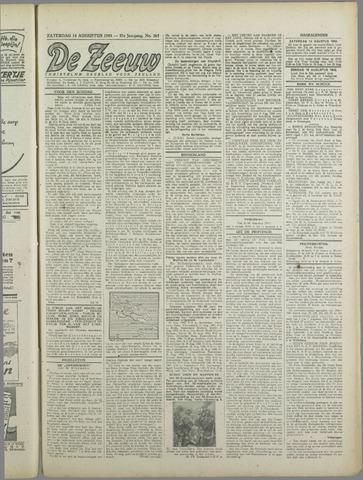 De Zeeuw. Christelijk-historisch nieuwsblad voor Zeeland 1943-08-14