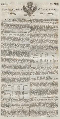 Middelburgsche Courant 1761-02-21