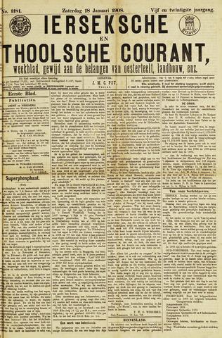 Ierseksche en Thoolsche Courant 1908-01-18