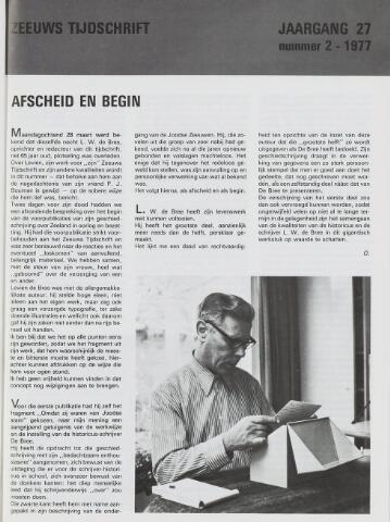 Zeeuws Tijdschrift 1977-03-15