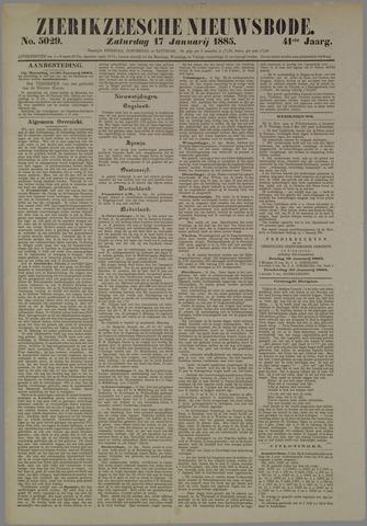 Zierikzeesche Nieuwsbode 1885-01-17