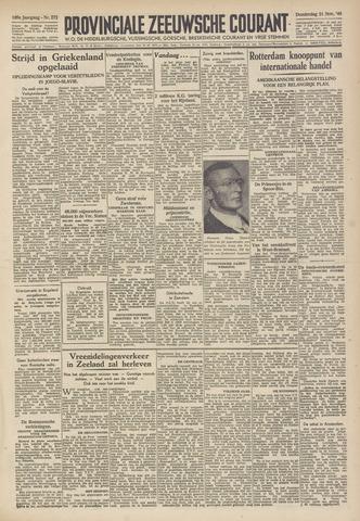 Provinciale Zeeuwse Courant 1946-11-21