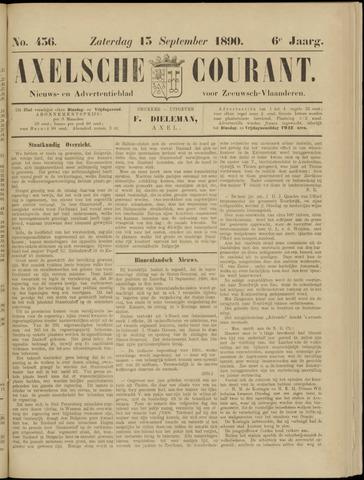 Axelsche Courant 1890-09-13