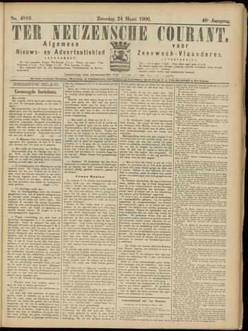 Ter Neuzensche Courant. Algemeen Nieuws- en Advertentieblad voor Zeeuwsch-Vlaanderen / Neuzensche Courant ... (idem) / (Algemeen) nieuws en advertentieblad voor Zeeuwsch-Vlaanderen 1906-03-24
