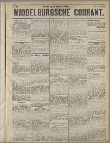 Middelburgsche Courant 1922-03-14