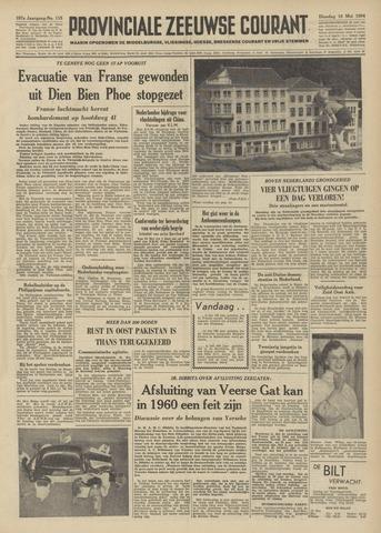 Provinciale Zeeuwse Courant 1954-05-18