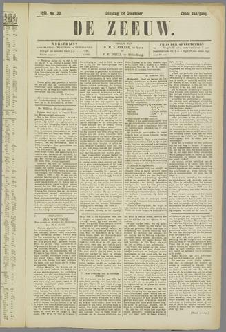 De Zeeuw. Christelijk-historisch nieuwsblad voor Zeeland 1891-12-29