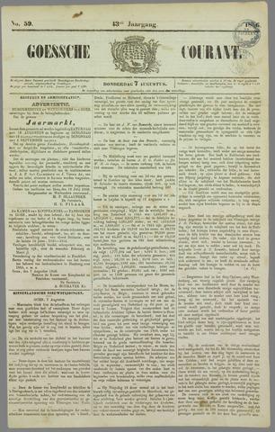 Goessche Courant 1856-08-07