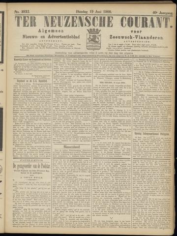 Ter Neuzensche Courant. Algemeen Nieuws- en Advertentieblad voor Zeeuwsch-Vlaanderen / Neuzensche Courant ... (idem) / (Algemeen) nieuws en advertentieblad voor Zeeuwsch-Vlaanderen 1900-06-19
