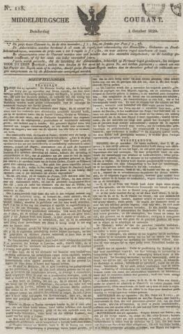 Middelburgsche Courant 1829-10-01