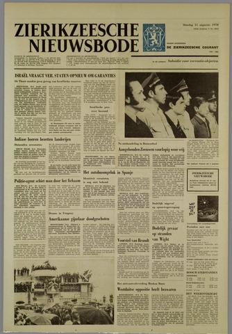 Zierikzeesche Nieuwsbode 1970-08-11