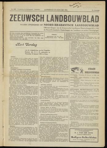 Zeeuwsch landbouwblad ... ZLM land- en tuinbouwblad 1952-01-19