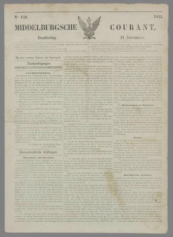 Middelburgsche Courant 1854-12-21