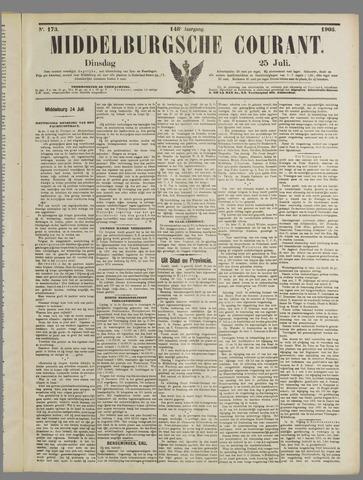 Middelburgsche Courant 1905-07-25