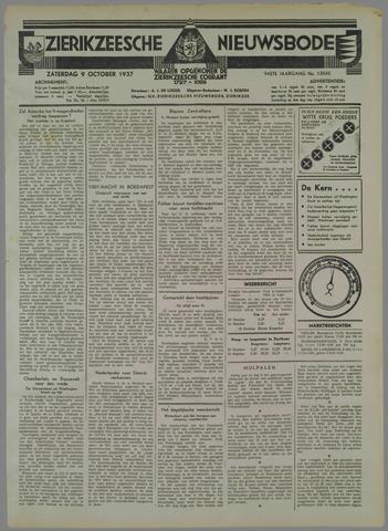 Zierikzeesche Nieuwsbode 1937-10-09