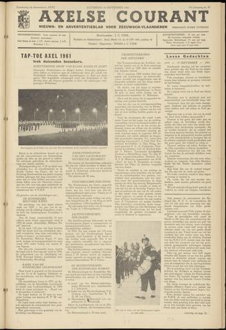 Axelsche Courant 1961-09-16