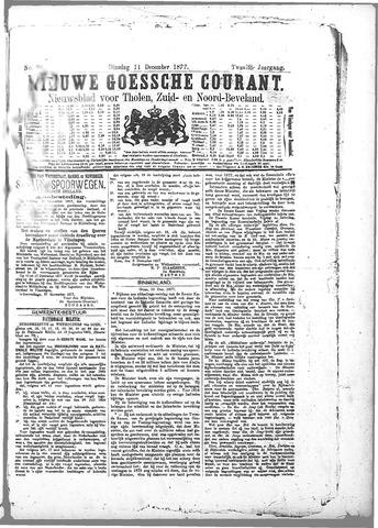 Nieuwe Goessche Courant 1877-12-11