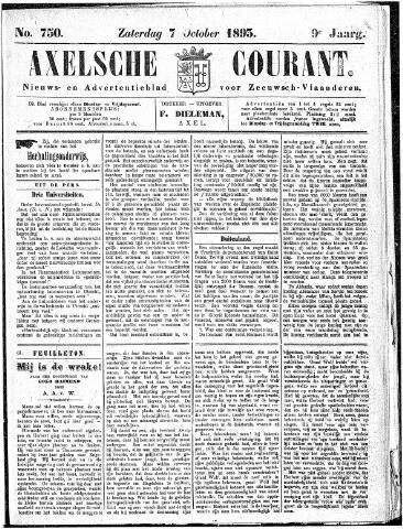 Axelsche Courant 1893-10-07
