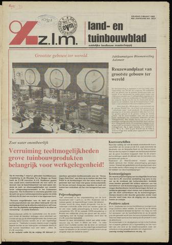 Zeeuwsch landbouwblad ... ZLM land- en tuinbouwblad 1982-03-05