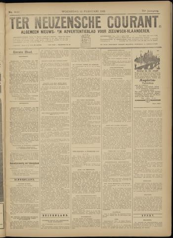 Ter Neuzensche Courant. Algemeen Nieuws- en Advertentieblad voor Zeeuwsch-Vlaanderen / Neuzensche Courant ... (idem) / (Algemeen) nieuws en advertentieblad voor Zeeuwsch-Vlaanderen 1931-02-11