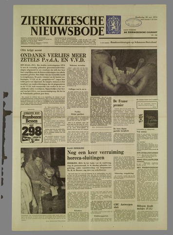 Zierikzeesche Nieuwsbode 1974-05-30