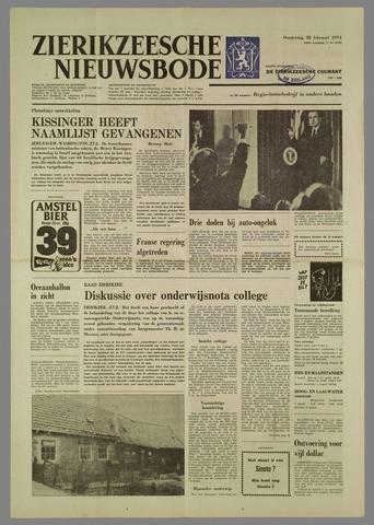 Zierikzeesche Nieuwsbode 1974-02-28