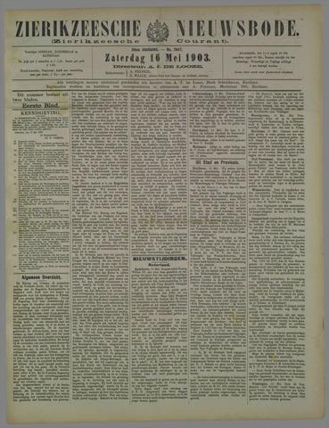 Zierikzeesche Nieuwsbode 1903-05-16