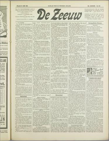 De Zeeuw. Christelijk-historisch nieuwsblad voor Zeeland 1934-06-15