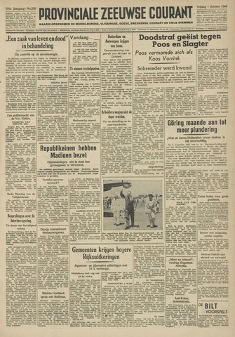 Provinciale Zeeuwse Courant 1948-10-01