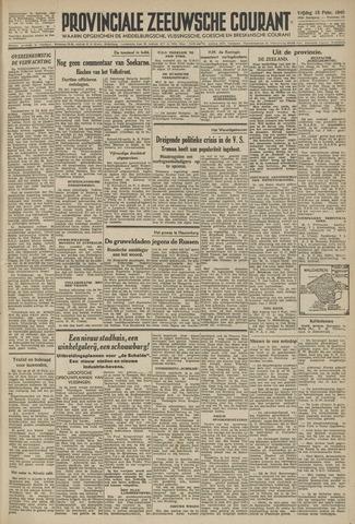Provinciale Zeeuwse Courant 1946-02-15