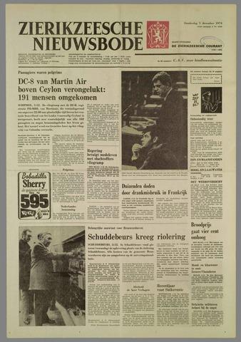 Zierikzeesche Nieuwsbode 1974-12-05