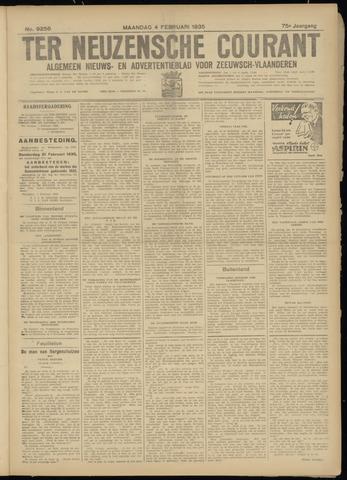 Ter Neuzensche Courant. Algemeen Nieuws- en Advertentieblad voor Zeeuwsch-Vlaanderen / Neuzensche Courant ... (idem) / (Algemeen) nieuws en advertentieblad voor Zeeuwsch-Vlaanderen 1935-02-04