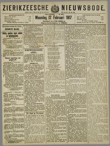Zierikzeesche Nieuwsbode 1917-02-12