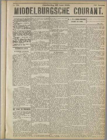 Middelburgsche Courant 1922-06-22