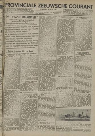 Provinciale Zeeuwse Courant 1944-06-06